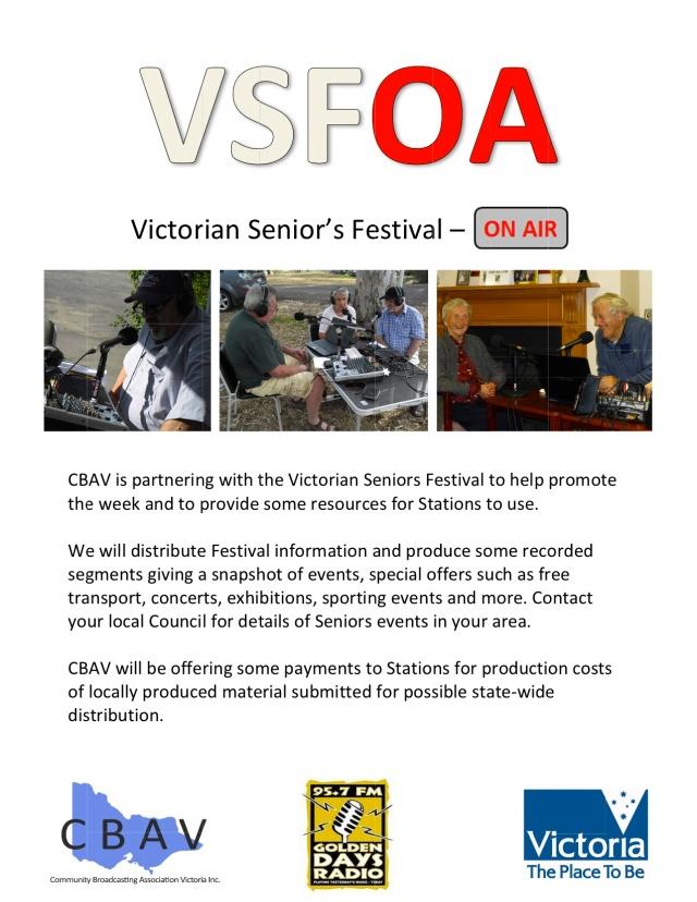 Victorian Senior's Festival