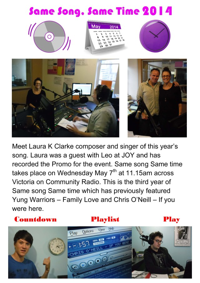 Same Song, Same Time 2014 Info